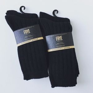 New Women's Frye boot Super-soft socks 4 Pairs